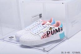 图1_真标带半码PUMA彪马 2020夏新款低帮运动板鞋休闲鞋编码 121860L