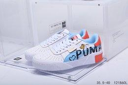 图2_真标带半码PUMA彪马 2020夏新款低帮运动板鞋休闲鞋编码 121860L