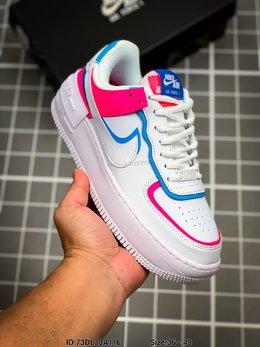 图1_耐克 Nike Air Force 1 Shadow 空军一号马卡龙超轻低帮运动休闲板鞋 ID 73DL20A116 Size 36 40