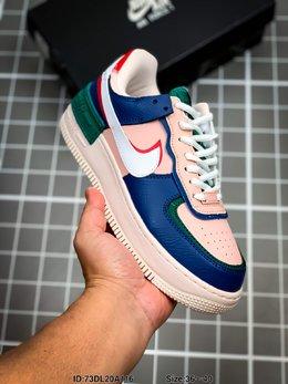 图3_耐克 Nike Air Force 1 Shadow 空军一号马卡龙超轻低帮运动休闲板鞋 ID 73DL20A116 Size 36 40