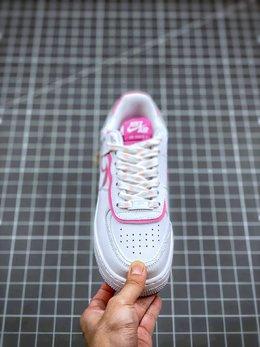 图2_终端放店Air Force 1 Shadow 白粉拼接轻量增高低帮百搭板鞋