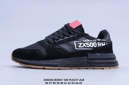 图3_阿迪达斯ADIDAS ZX 500 RM 三叶草爆米花软底减震慢跑鞋 PLX246 ZLB