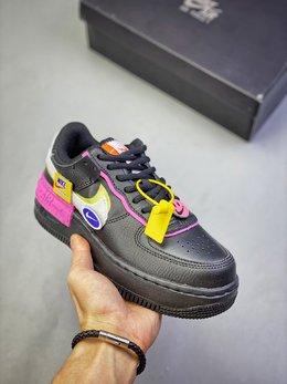 图3_Nike Air Force 1 Shadow 空军一号轻量增高低帮百搭板鞋 双层轻量EVA发泡中底 防滑RB橡胶外圈底鞋底 细节随意对比其他版尺码 36 36 5 37 5 38 38 5 39 40