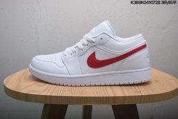 图1_乔丹aj1低帮新配色二层真标半码Air Jordan 1 Low AJ1乔1 低帮文化休闲运动板鞋 size 如图K369K0410728