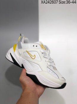 图1_公司级 耐克Nike M2K Tekno复古潮流百搭休闲运动旅游老爹鞋 采用原楦 原档案开发制作 实力大厂生产 后跟使用台湾代工厂一致定型机定型 线条效果和脚感完美 XA242607