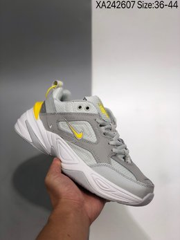 图2_公司级 耐克Nike M2K Tekno复古潮流百搭休闲运动旅游老爹鞋 采用原楦 原档案开发制作 实力大厂生产 后跟使用台湾代工厂一致定型机定型 线条效果和脚感完美 XA242607