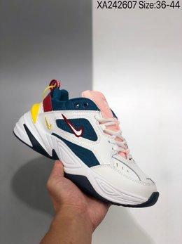 图3_公司级 耐克Nike M2K Tekno复古潮流百搭休闲运动旅游老爹鞋 采用原楦 原档案开发制作 实力大厂生产 后跟使用台湾代工厂一致定型机定型 线条效果和脚感完美 XA242607