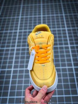 图2_耐克Nike Air Force 1 AF1数字手稿 白红激光橙 解构 运动鞋ID 718DL18A018 Size 36 44