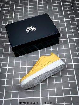 图3_耐克Nike Air Force 1 AF1数字手稿 白红激光橙 解构 运动鞋ID 718DL18A018 Size 36 44