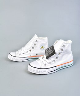 图3_终端放店终于来了 小红书爆款 Converse all star 鞋底拼接 搭配白色简约的鞋面 给你带来不一样的夏季小白鞋 颜色超级温柔 百搭神器 size 35 44 36 5 37 5 39 5 41 5 42 5