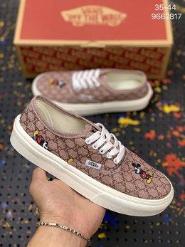 图2_万斯Vans Authentic低帮帆布米老鼠迪士尼联名 休闲运动板鞋 编码 9662817