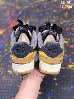 图2_耐克 Travis Scott X Nike Air Force 1 Low Zipper