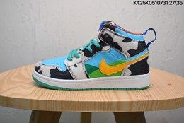 图1_联乘美国的著名冰淇淋品牌Ben Jerry s x Nike Air Jordan 1 Retro Hi 乔丹一代高帮