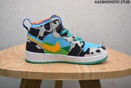 图2_联乘美国的著名冰淇淋品牌Ben Jerry s x Nike Air Jordan 1 Retro Hi 乔丹一代高帮