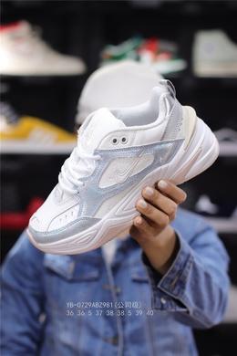 图2_公司级 耐克 Nike M2K Tekno 复古休闲老爹鞋 通过对鞋面和中底线条的调整为其增添现代感 也依旧保留了大量复古装饰元素 结合轻盈缓震的泡棉中底 带来舒适的日常穿着体验 其独特的复古厚底设计外加酷炫的配色 将复古潮流进行到底 YB 0729ABZ98136 36 5 37 38 38 5 39 40