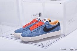 图3_公司级真标带半码耐克 Nike Blazer Mid QS HH 复古经典低帮开拓者 颇具辨识度的Nike Blazer Mid配色 将于今年回归登场 Swoosh纯白配色填充 鞋款简约大气经典再现 编码 132637D