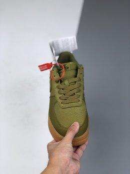 图1_36 45公司级 真标真半码 Nike Air Force 1 AF1 以硬质布面材质打造 附着头层皮 生胶大底 男鞋男子低帮空军一号帆布板鞋 官方货号 AQ0117 800 尺码 36 36 5 37 5 38 38 5 39 40 40 5 41 42 42 5 43 44 44 5 45 a3