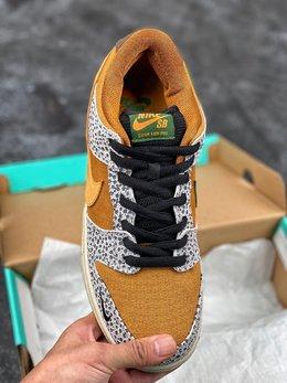 图3_耐克 Nike SB Dunk Low Pro ISO Burnt Sienna 石斑 扣篮系列复古低帮休闲运动滑板板鞋 采用脚感柔软舒适ZoomAir气垫 有效吸收滑板等极限运动在落地时带来的冲击力 为街头运动者们提供更好的保护 货号 CD2563 002尺码 36 36 5 37 5 38 38 5 39 40 40 5 41 42 42 5 43 44 45