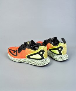图2_终端放店Adidas Alphaedge 4D M 针织 吸呼 面休闲运动慢跑鞋鞋 以面 经典跑鞋 ZX 4000 为 本蓝 打造 为 带了 来更好的穿着脚感 适并 应 4D 的前 风卫 格 鞋 将面 材质改为 Primeknit 编织 并3M反 条光 补强 造型颇具 构解 风格 官方货号 FV9028BM尺码 39 40 40 5 41 42 42 5 43 44 44 5 45