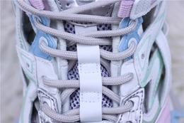 图2_纯原版 巴黎世家老爹鞋系列 巴黎世家 Balenciaga 巴黎世家4 0老爹鞋 浅紫粉淡蓝白货号 568615 W2GN3 9045