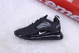 图1_公司货 MAX720系列 NIKE 耐克MAX720跑鞋 黑白货号 CV1633 002尺码 40 40 5 41 42 42 5 43 44 44 5 45 NIKE Air Max 720 全掌气垫减震舒适跑步鞋