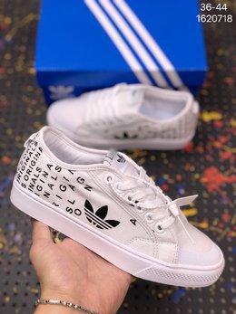 图2_Adidas阿迪达斯NIZZALO三叶草夏季透气帆布运动休闲鞋 编码 1620718