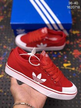 图3_Adidas阿迪达斯NIZZALO三叶草夏季透气帆布运动休闲鞋 编码 1620718