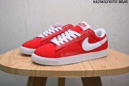 图1_Nike Blazer Low Suede 耐克开拓者帆布材质低帮板鞋 size 如图K425K5210731