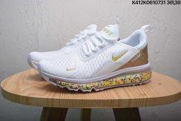 图2_耐克 NIKE AIR MAX270 REACT彩虹颗粒气垫跑步鞋运动鞋 size 如图K412K0610731