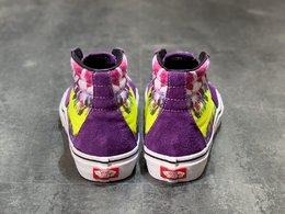 图2_Vans SK8 Hi 多色扎染涂鸦紫色高帮男女硫化帆布板鞋 Size 35 36 36 5 37 38 38 5 39 40 40 5 41 42 42 5 43 44 工艺 硫化1 1 重量1 1 真标 原钢印 材质标 鞋型标 合格证