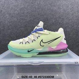 图1_新款 Nike LeBron 17 詹姆斯17代低帮男子实战篮球鞋 尺码 40 46