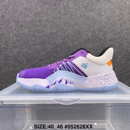 图1_爆款 阿迪达斯 adidas D O N Issue 1 米切尔1代低帮男子实战篮球鞋 尺码 40 46
