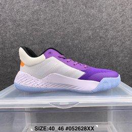图2_爆款 阿迪达斯 adidas D O N Issue 1 米切尔1代低帮男子实战篮球鞋 尺码 40 46