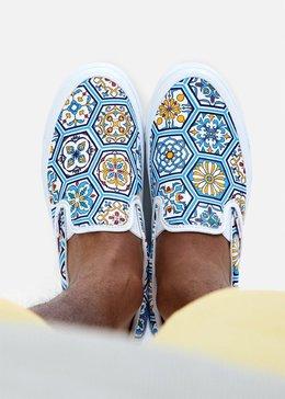 图3_Vans 一脚蹬 摩洛哥瓷砖印花 素材分享