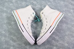 图2_终于来了 小红书爆款 Converse All Star 鞋底拼接 搭配白色简约的鞋面 采用双拼设计 给你带来不一样的夏季小白鞋 颜色超级温柔 百搭神器 Size 35 44 36 5 37 5 39 5 41 5 42 5