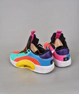 图2_终端放店公司级Air Jordan Jordan XXXV AJ35代 镂空缓震实战运动篮球鞋 新品首发 AJ 最新正代来了 原装实战版本超大面积前后真实ZOOM加持 这款鞋采用隐身的防撕裂基础结构和衣领覆盖层进行了类似的设计 出现了新的颜色在鞋子上 鞋跟品牌 鞋带和鞋绳等区域都用了黑色来进行点缀 官方货号 DJ2831H8SIZE 40 40 5 41 42 42 5 43 44 44 5 45 46