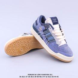 图3_调价 公司级 原楦开发版型 带芯片阿迪达斯 Adidas Forum 84 Low OG Bright Blue 低帮百搭潮流休闲运动板鞋 以复古篮球鞋的外形为基础 采用皮革拼接 简约百搭 更加贴合舒适 中底内侧网格造型起到点睛之笔 外底橡胶 更显复古YUHD106 XLL货号 GW0298