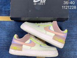 图3_Nike Air Force 1 Shadow空军一号 轻量增高低帮板鞋拼接马卡龙糖果全新少女系解构主义设计货号 CI0919 700尺码 36 36 5 37 5 38 38 5 39 40ID 1121228
