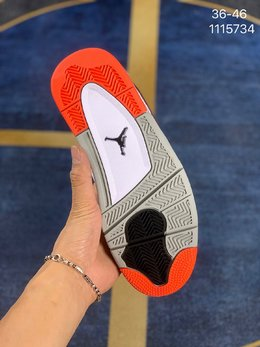 图3_独家实拍 Air Jordan 4 Hot Lava 热熔岩 308497 116 原楦原纸板开发 全市场最纯正四代版型 原底真实气垫 回弹反馈充足完美鞋楦打造 市面最高工艺 一切细节如图实拍 所见所得 Size 36 36 5 37 5 38 38 5 39 40 40 5 41 42 42 5 43 44 45 46 编码 1115734