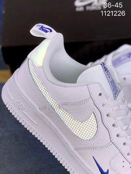 图2_真标 带半码 耐克Nike Air Force 1 Low 空军一号低帮百搭休闲运动板鞋 柔软 弹性十足的缓震性能和出色的中底设计 横跨复古与现代的外型结合 造就出风靡全球三十多年的Force 1 货号 D06292编码 1121226