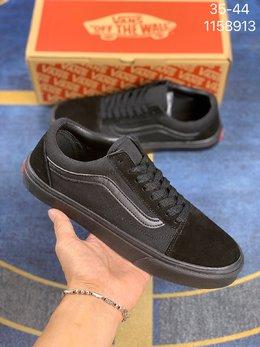 图1_VANS 万斯 Old Skool 低帮休闲情侣板鞋 滑板鞋 编码 1158913
