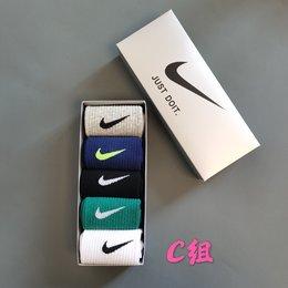 图3_耐克Nike 彩色中筒礼盒 5双一盒 今年最流行色彩 马卡龙 糖果 精梳棉中筒袜 A组 B组 C组