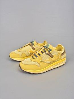 图3_终端放店耐克 NIKE 耐克Max 1 跑鞋 柠檬黄Travis Scott x Nike Air Max 1