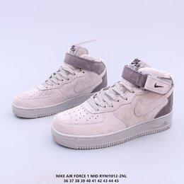 图2_头层皮 原楦开发纸版楦型 台产丝光猪巴革材质鞋面 全新升级市面最为正确中底 Nike Air Force 1 High PRM 空军一号高帮经典休闲运动板鞋RYNI1012 ZNL
