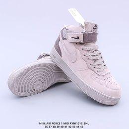图3_头层皮 原楦开发纸版楦型 台产丝光猪巴革材质鞋面 全新升级市面最为正确中底 Nike Air Force 1 High PRM 空军一号高帮经典休闲运动板鞋RYNI1012 ZNL