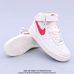 图3_内置全掌air sole气垫中底缓震 人脚必备单品 OG万年经典配色 耐克Nike Air Force 1 Mid 07 GS
