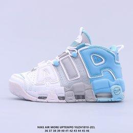 图2_耐克 Nike Air More Uptempo 96 OG 大皮蓬系列 大AIR 原装级最高工艺 原盒原标 极力推荐此版本 厚实而充满质感的皮质鞋面两側印刻了一对巨大的字母 AIR 独特炫酷的外观惊艳无比 因此也被国内鞋迷称之为 大AlR Air More Uptempo也是Nike历史上首次搭载全Max Aire气垫的篮球鞋 拥有强大的缓震性能 舒适的脚感更是毋庸置疑YUZH1010 ZCL货号 DO6718